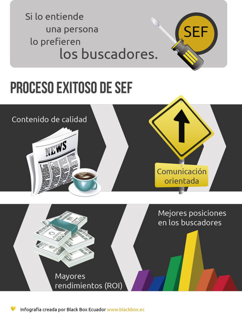 Posicionamiento Web SEF Infografia