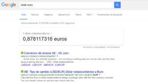 SEM o SEO Web Google Ejemplo 2